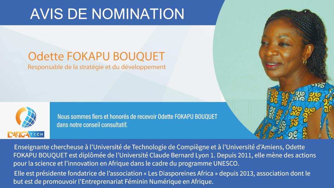 Conseil consultatif Nomination